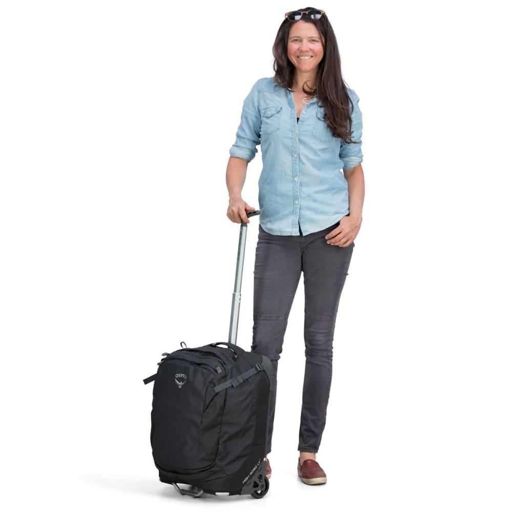 OSPREY 38L/19.5 in. Ozone Wheeled Global Carry-On Bag - BLACK