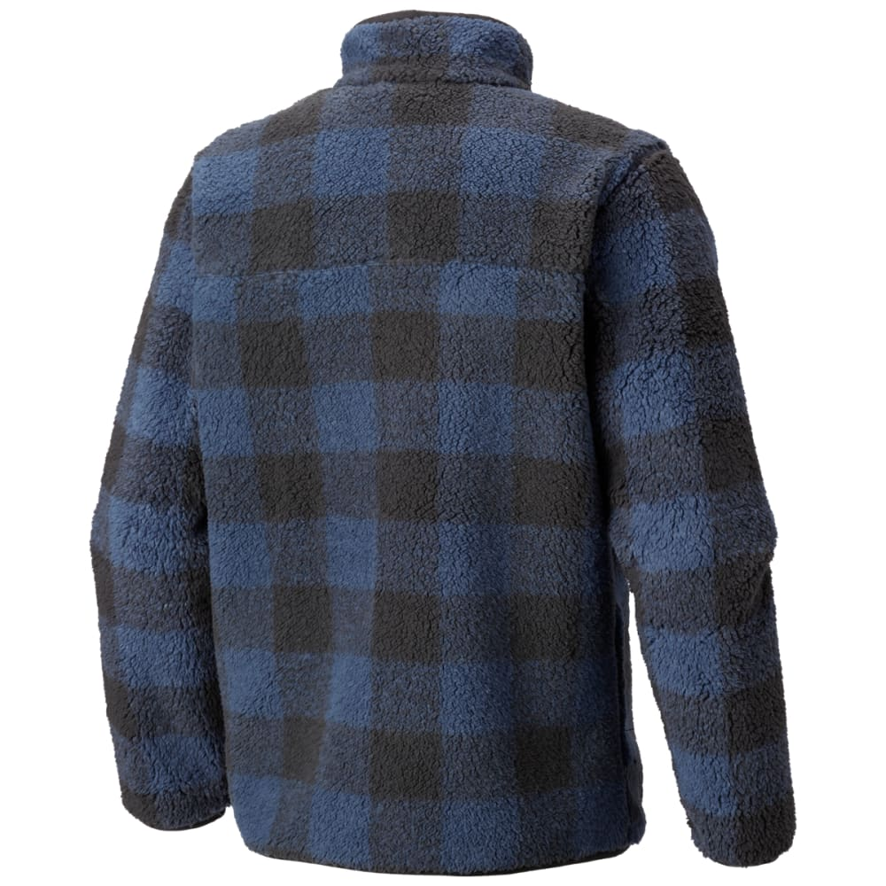 COLUMBIA Men's Mountain Side Heavyweight Full-Zip Fleece - DK MT PLAID-479