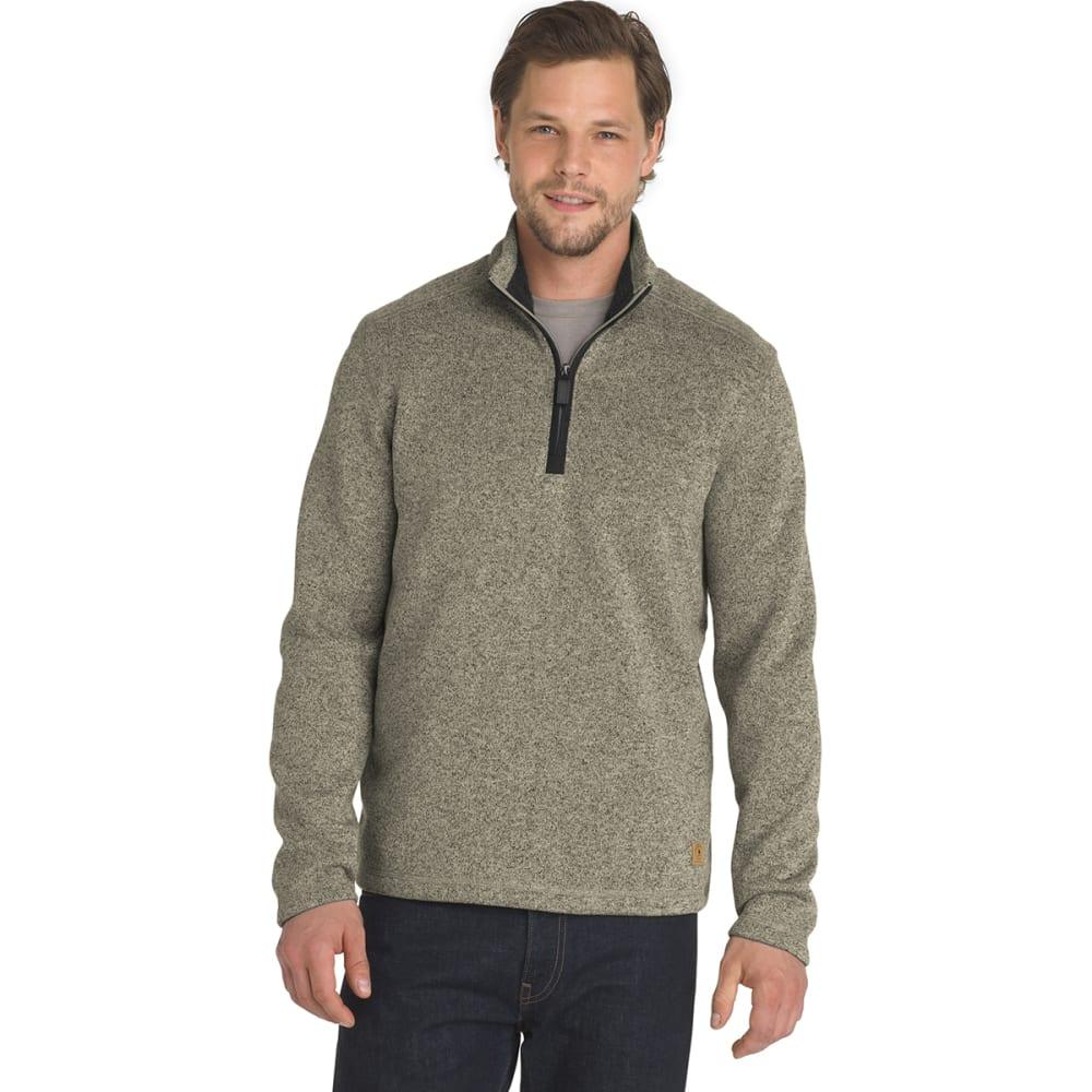 G.H. BASS & CO. Men's Madawaska 1/4 Zip Fleece Pullover - SILVR BIRCH HTR -280