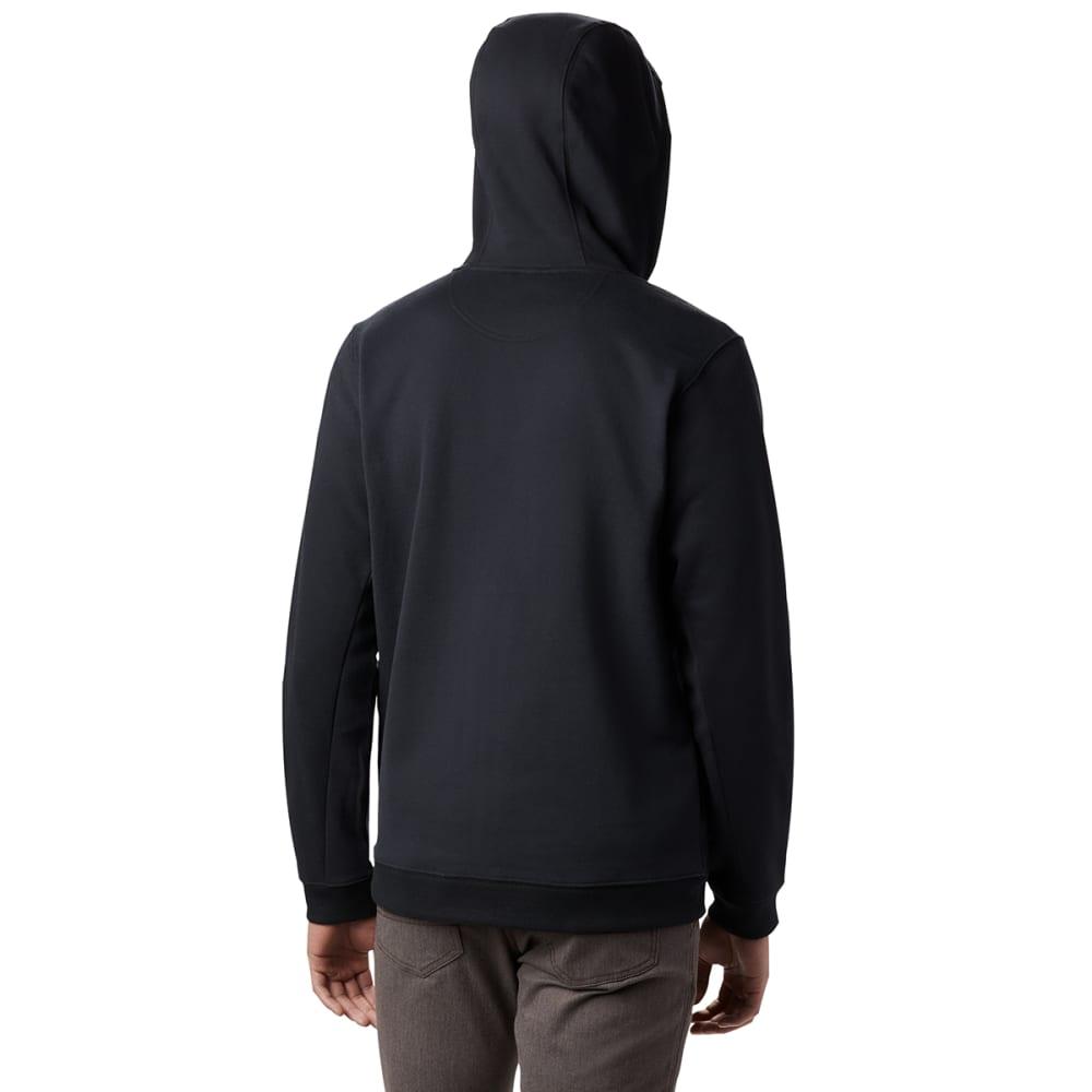 COLUMBIA Men's Hart Mountain Full Zip Hoodie - 010 BLACK
