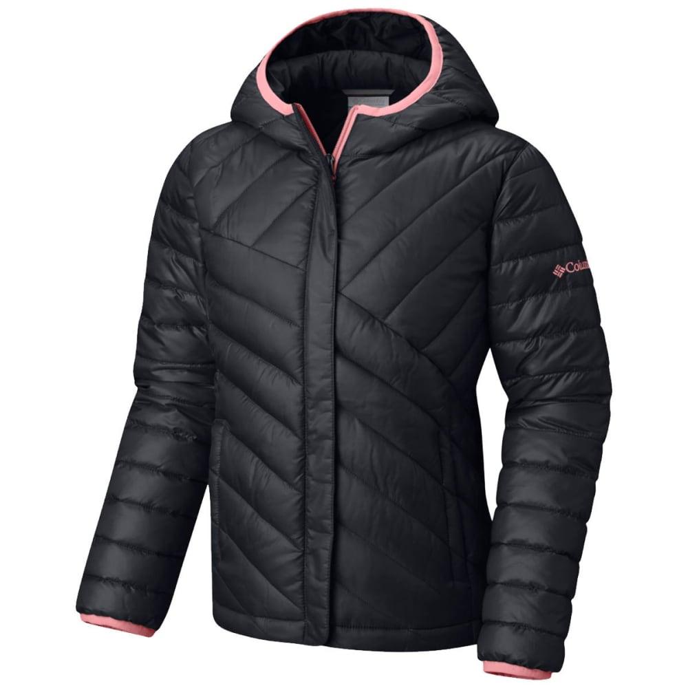 27bc42bfe93 COLUMBIA Big Girls' Powder Lite Puffer Jacket - BLACK/TIKI ...
