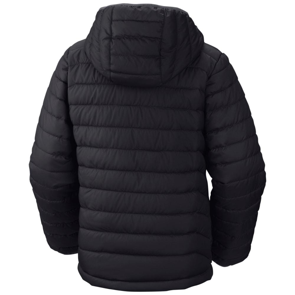 COLUMBIA Boys' Powder Lite Puffer Jacket - BLACK-010