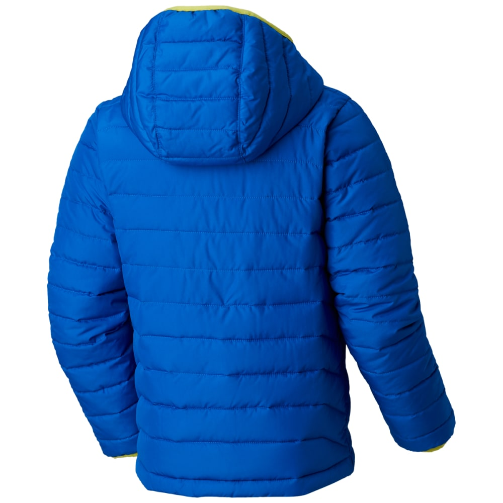 COLUMBIA Boys' Powder Lite Puffer Jacket - SUPERBLUE-440