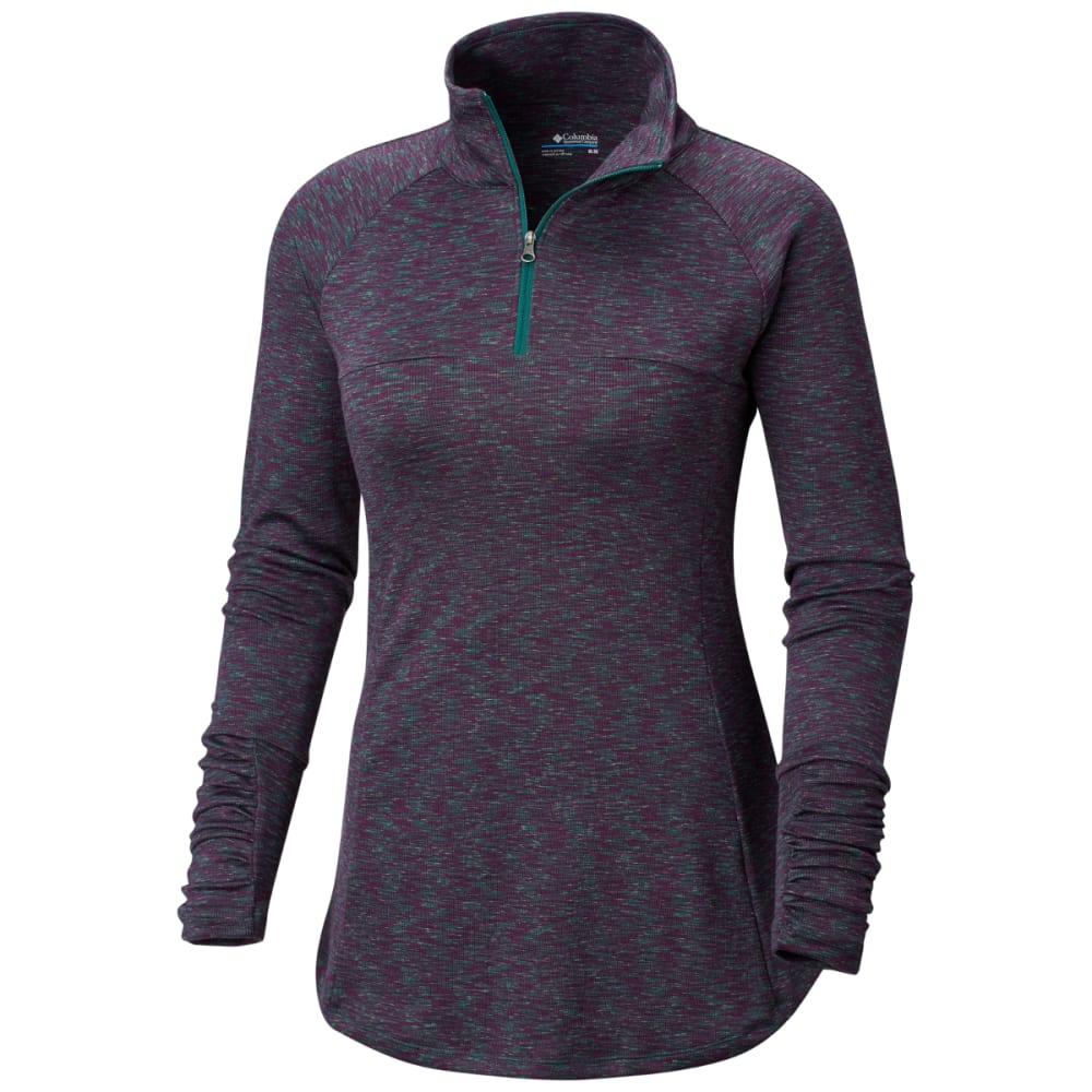 COLUMBIA Women's Outerspaced III Half Zip Fleece - DARKIVY-398