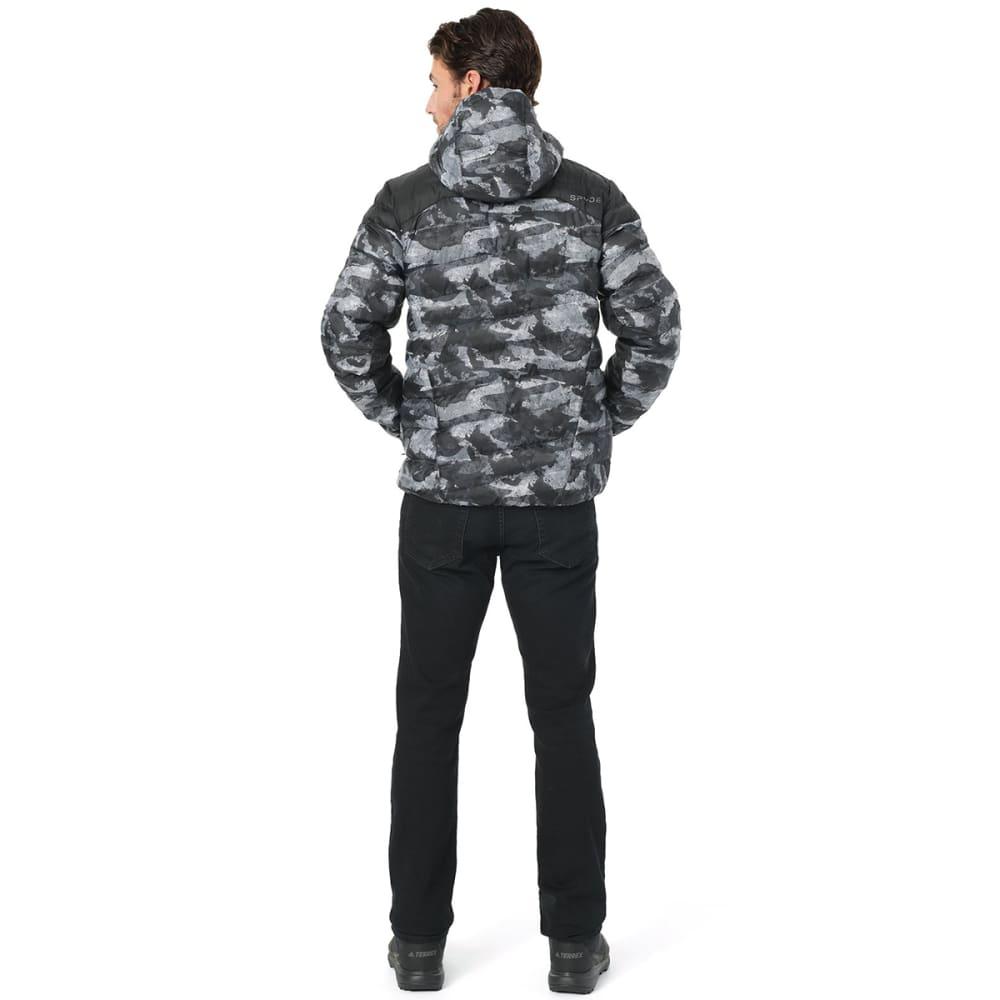 SPYDER Men's Geared Hoody Synthetic Down Jacket - CAMODISTRESS-026