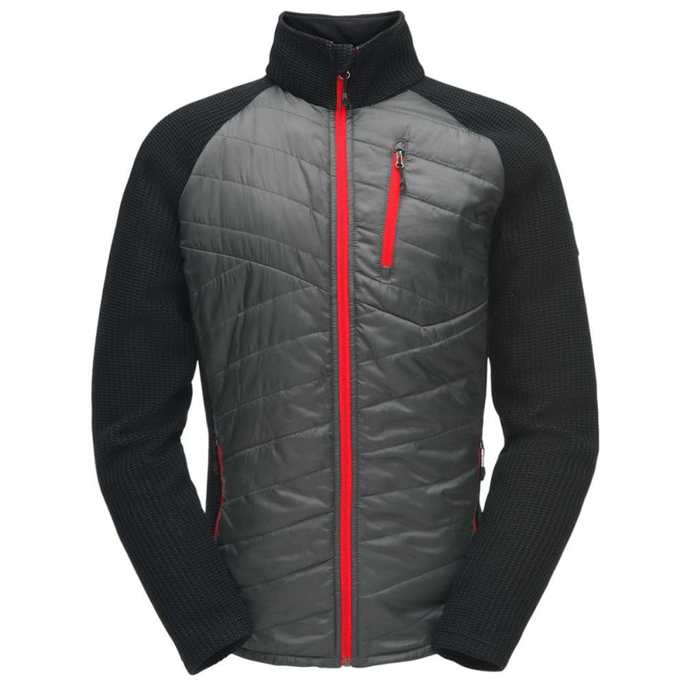 SPYDER Men's Ouzo Full-Zip Stryke Jacket - POLAR-069