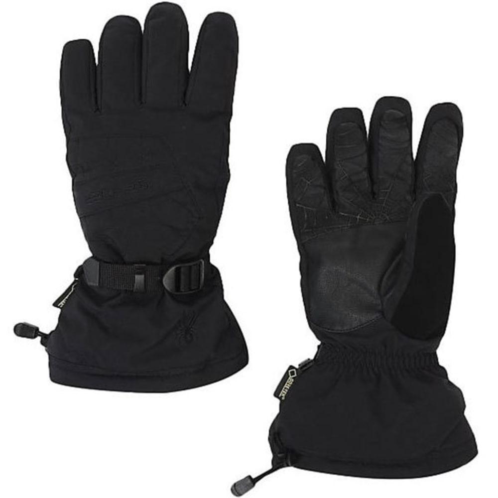 SPYDER Men's Overweb GTX Ski Gloves - BLACK