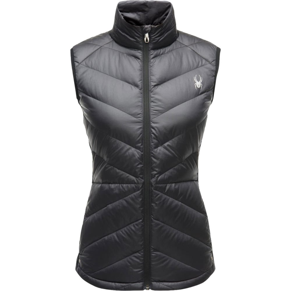 SPYDER Women's Solitude Down Vest - BLACK