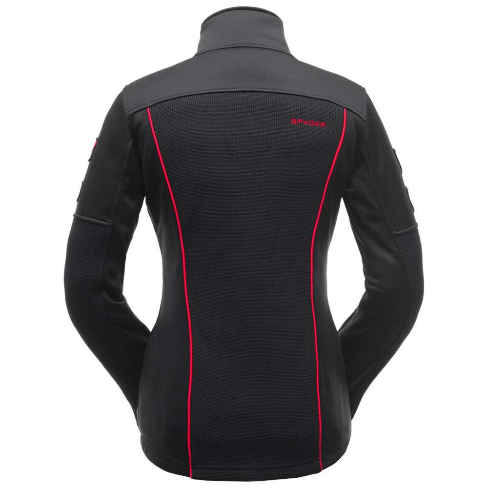 SPYDER Women's Wengen Full-Zip Stryke Jacket - BLACK