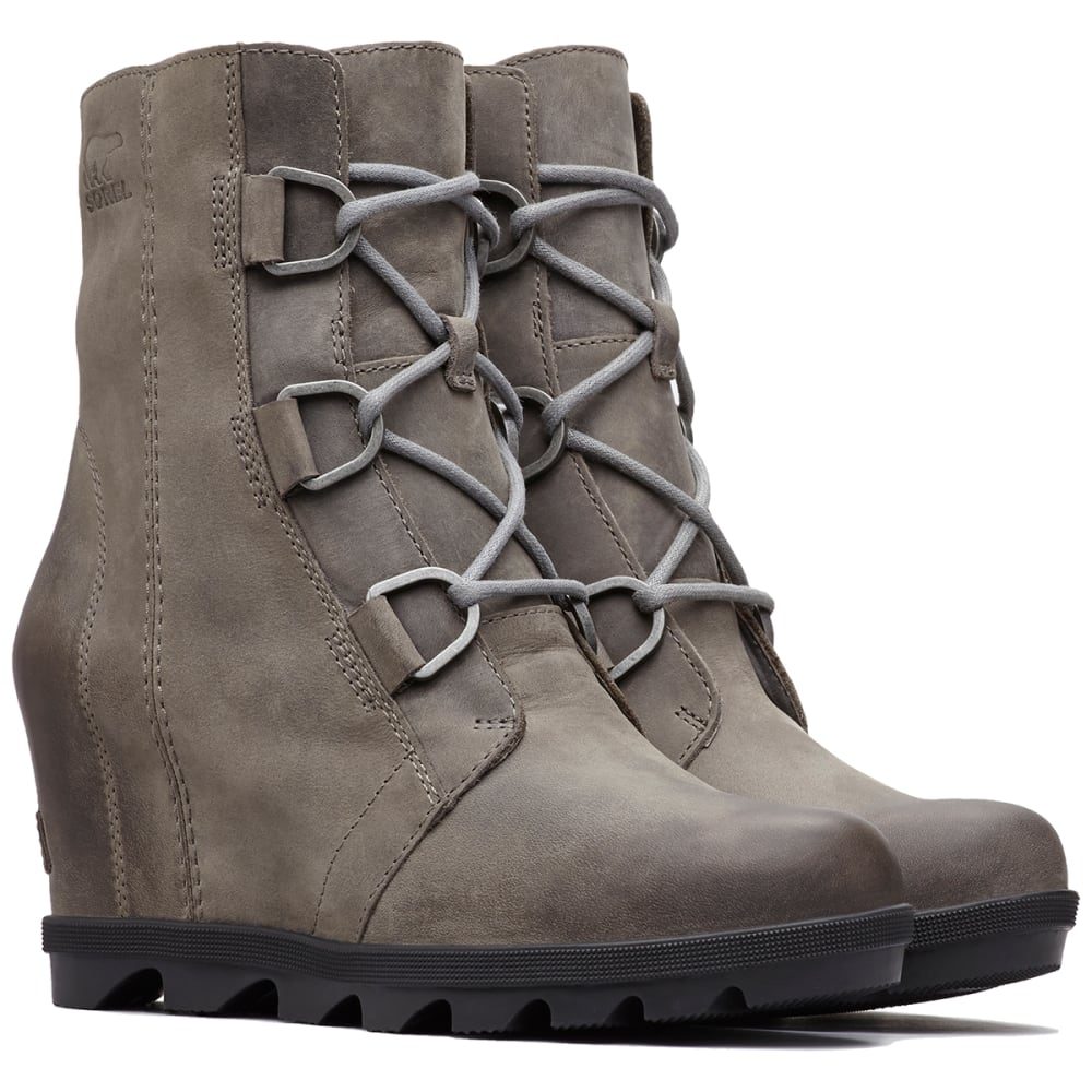 b84f110d5fdc SOREL Women  39 s Joan Of Arctic Wedge II Waterproof Boots - QUARRY -