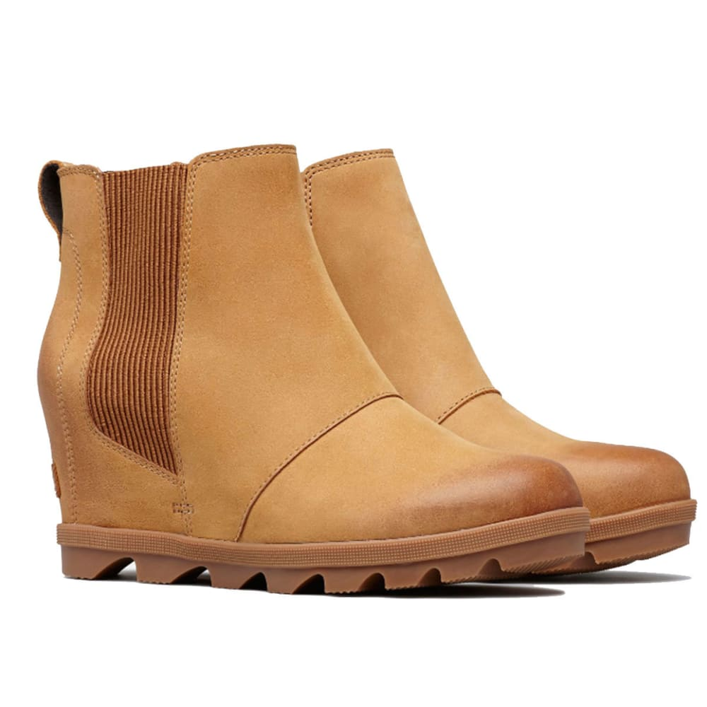 ... SOREL Women  39 s Joan of Arctic trade  Wedge Waterproof Chelsea Boots  - CAMEL f134d55bcd