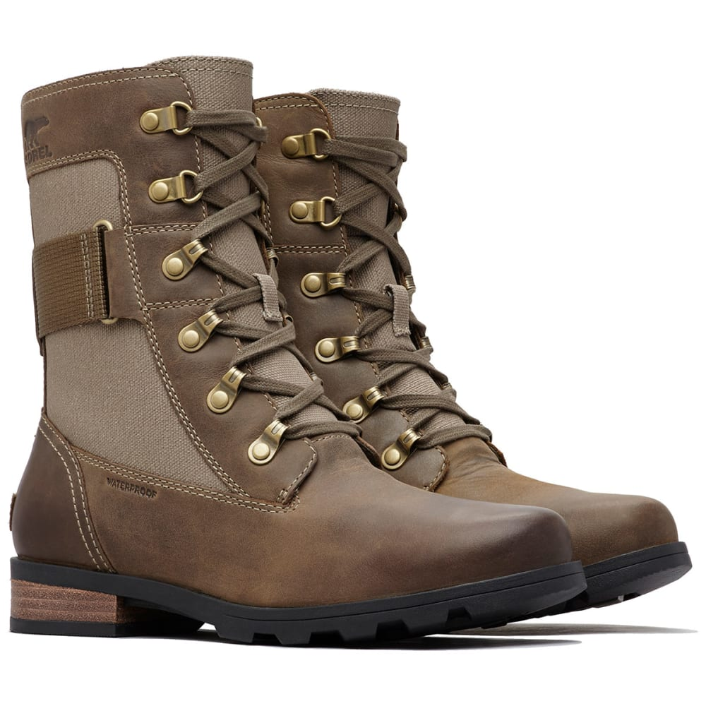 SOREL Women's Emelie Conquest Waterproof Boots - MAJOR -245