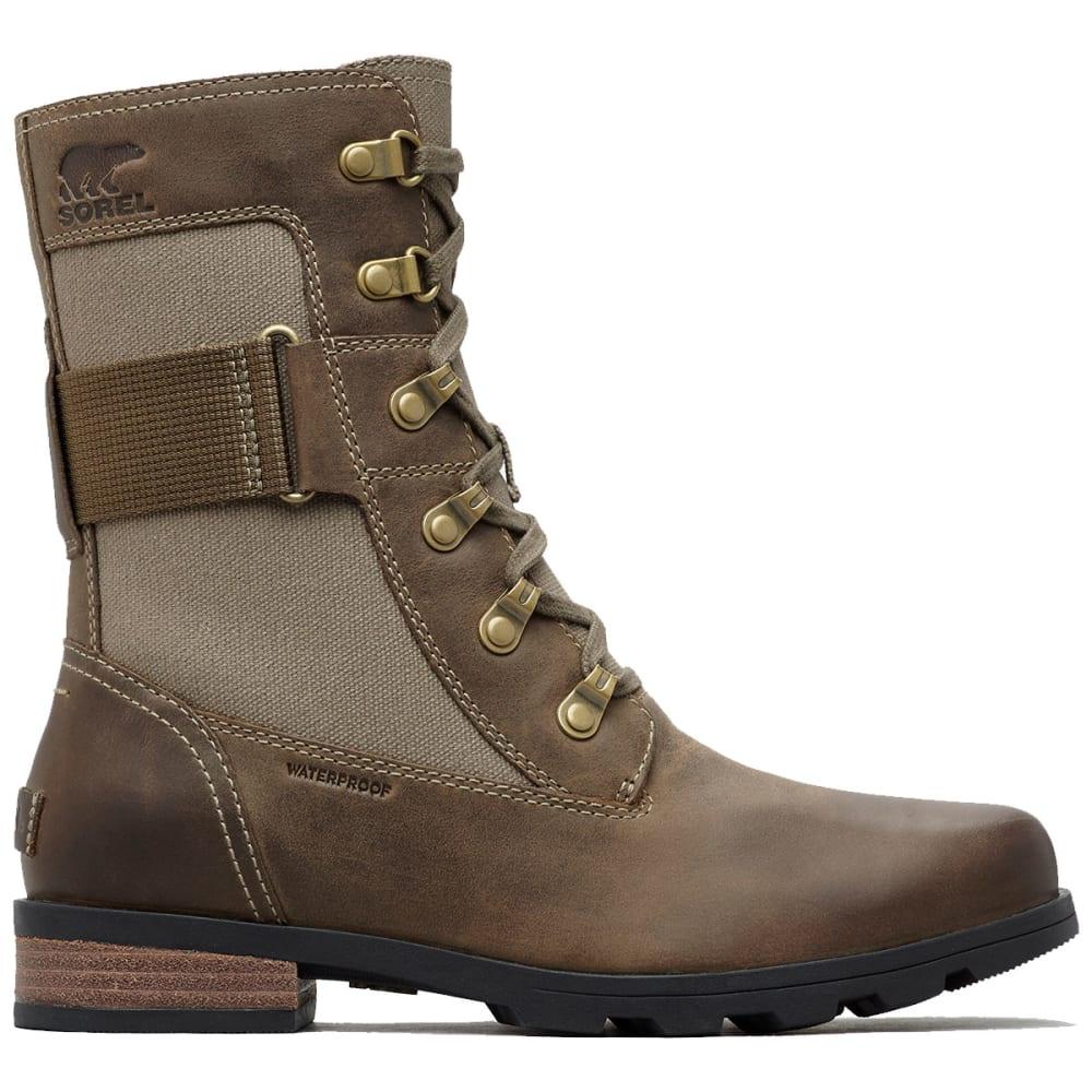 SOREL Women's Emelie Conquest Waterproof Boots - MAJOR -245
