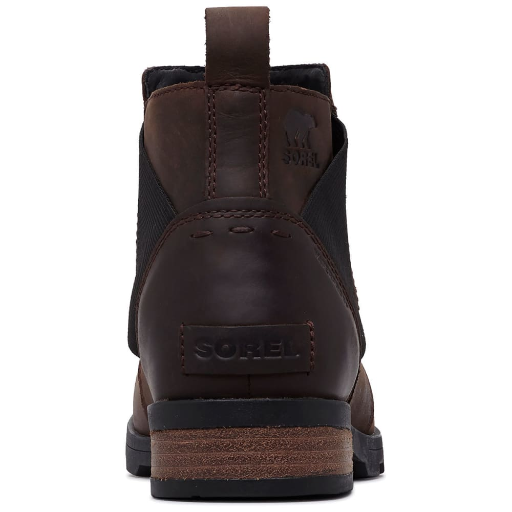 SOREL Women's Emelie Chelsea Waterproof Boots - CATTAIL-908