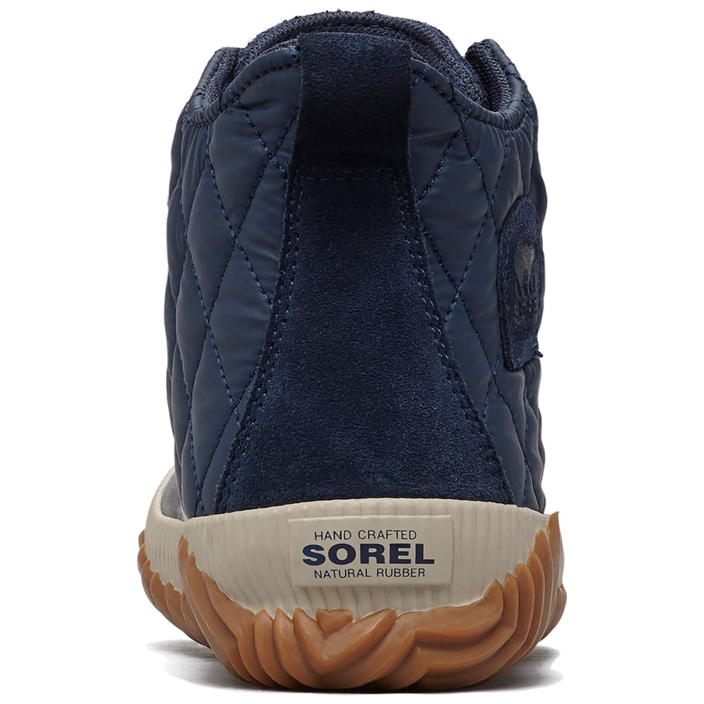 SOREL Women's Out 'N About Plus Waterproof Duck Boots - COLLEGIATE NAVY -464