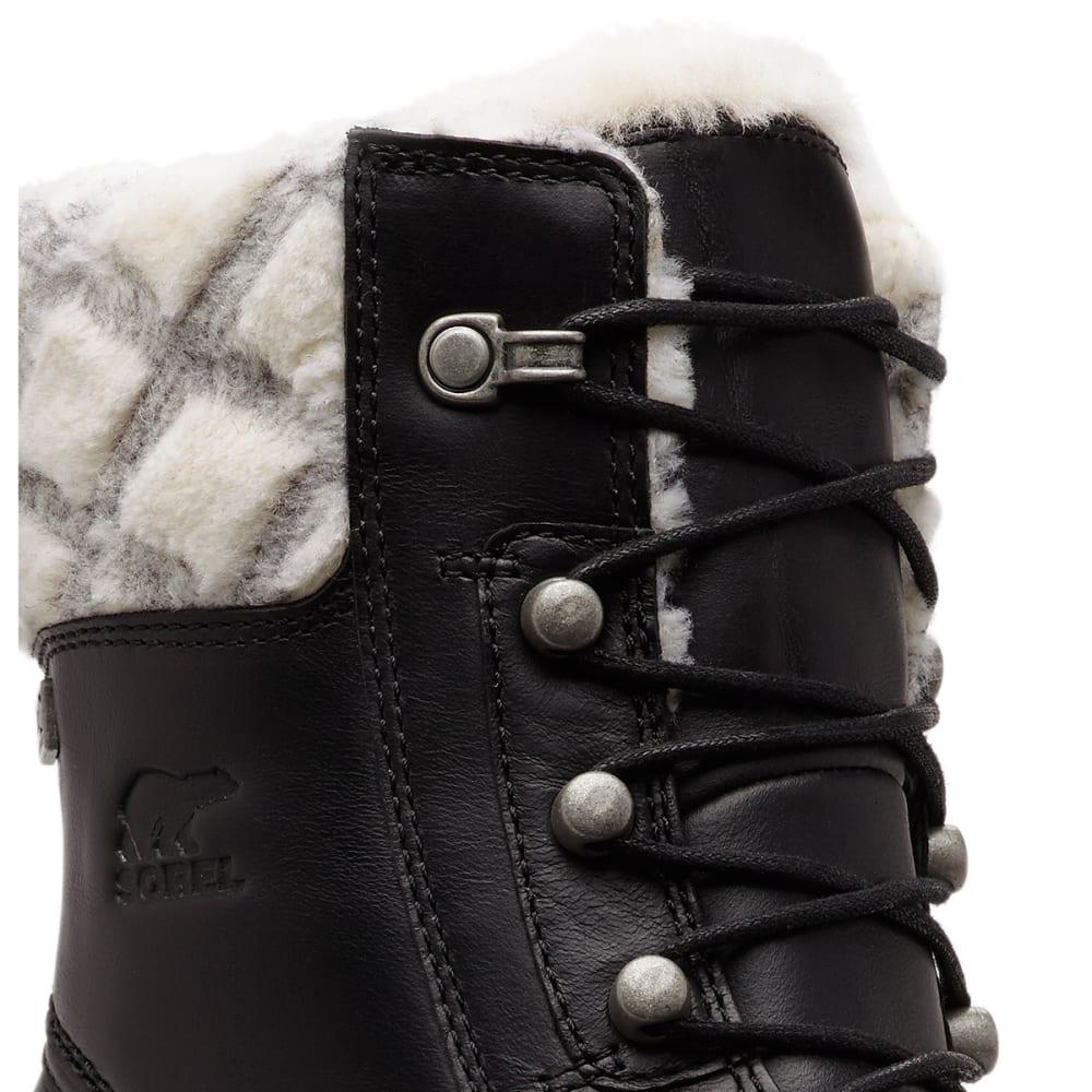 SOREL Women's Whistler Mid Waterproof Insulated Storm Boots - BLACK -010