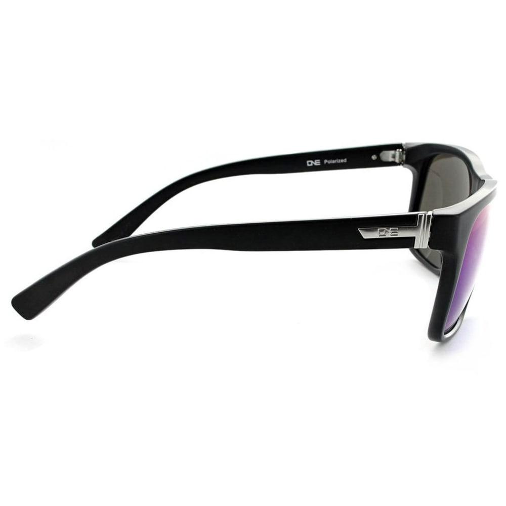ONE BY OPTIC NERVE Ziggy Polarized Sunglasses - MATTE BLACK
