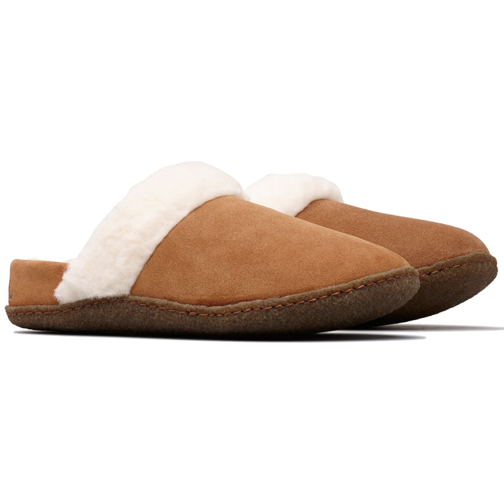 SOREL Women's Nakiska Slide II Slippers - CAMEL BROWN-224