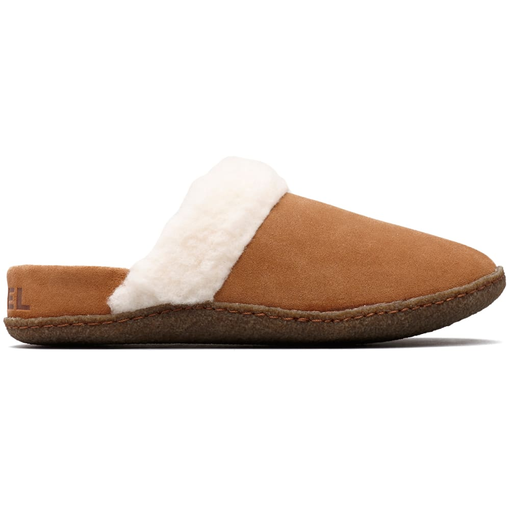 SOREL Women's Nakiska Slide II Slippers - CAMEL BROWN-224