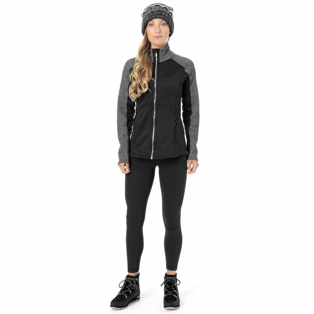 SPYDER Women's Bandita Full-Zip Stryke Jacket - BLACK