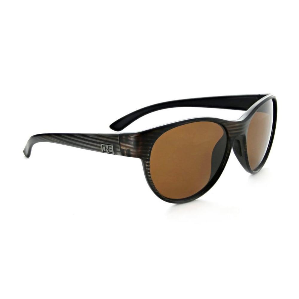 ONE BY OPTIC NERVE Women's Lahaina Sunglasses - MATTEDRIFTWOOD BROWN