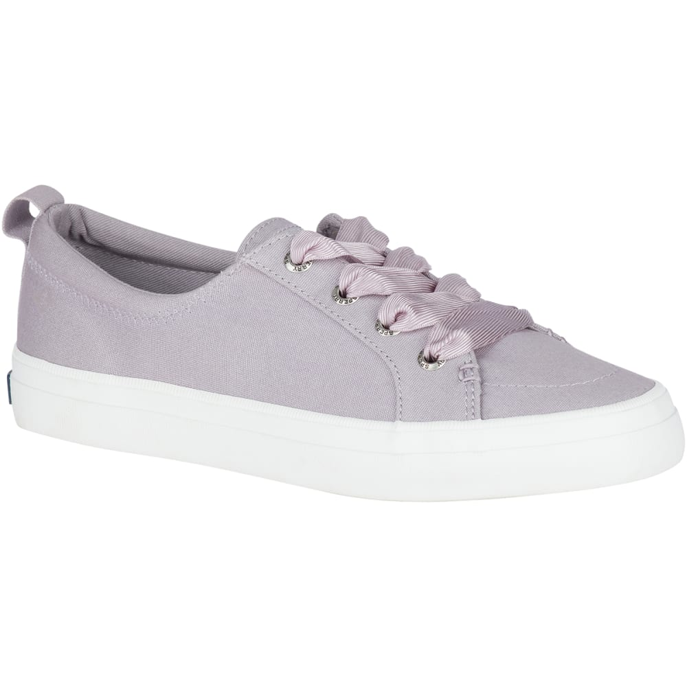 SPERRY Women's Crest Vibe Satin Lace Sneakers 6