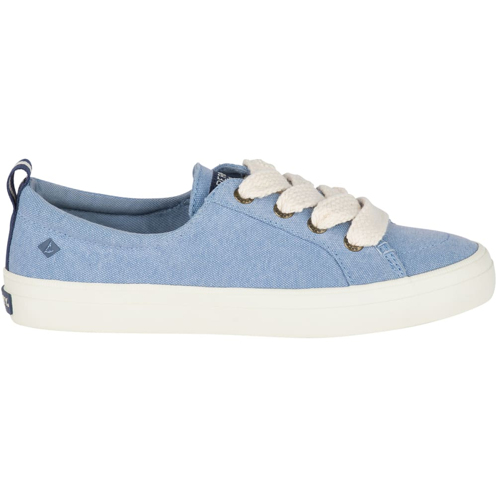 Crest Vibe Chubby Lace Canvas Sneakers