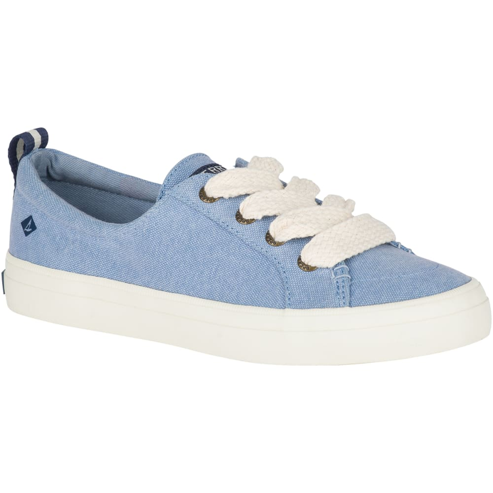 SPERRY Women's Crest Vibe Chubby Lace Sneakers - LT BLUE-STS82617