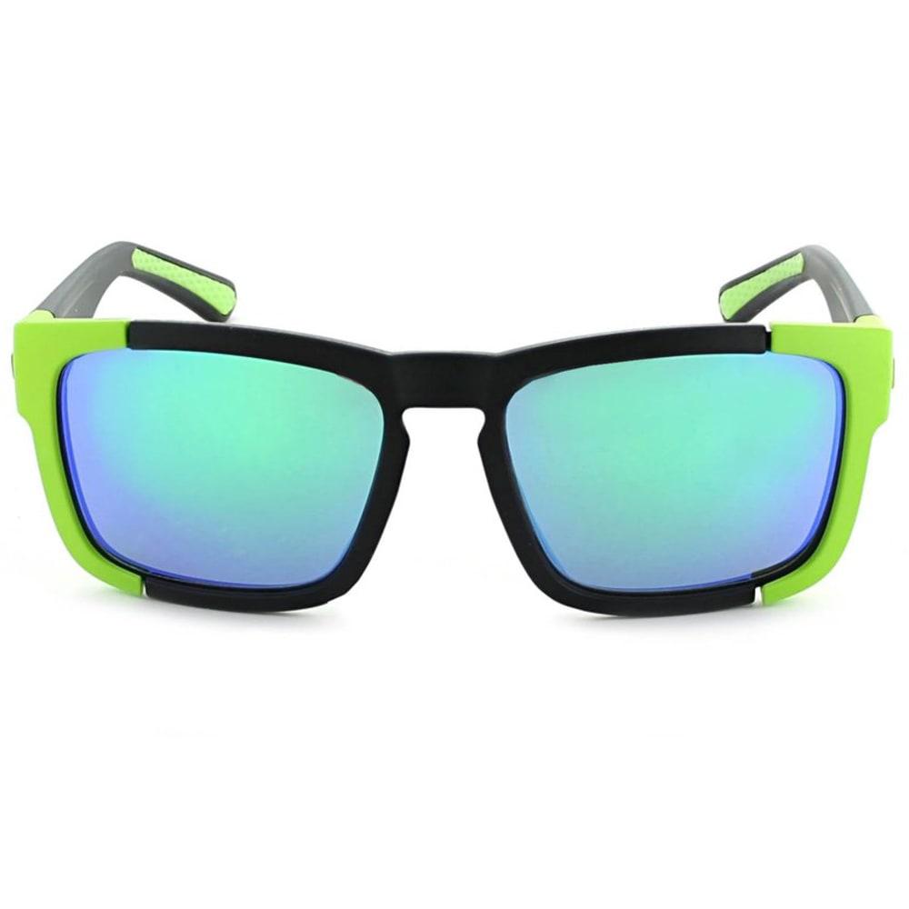 OPTIC NERVE Vettron Sunglasses - MT BLK W/MT ALUI