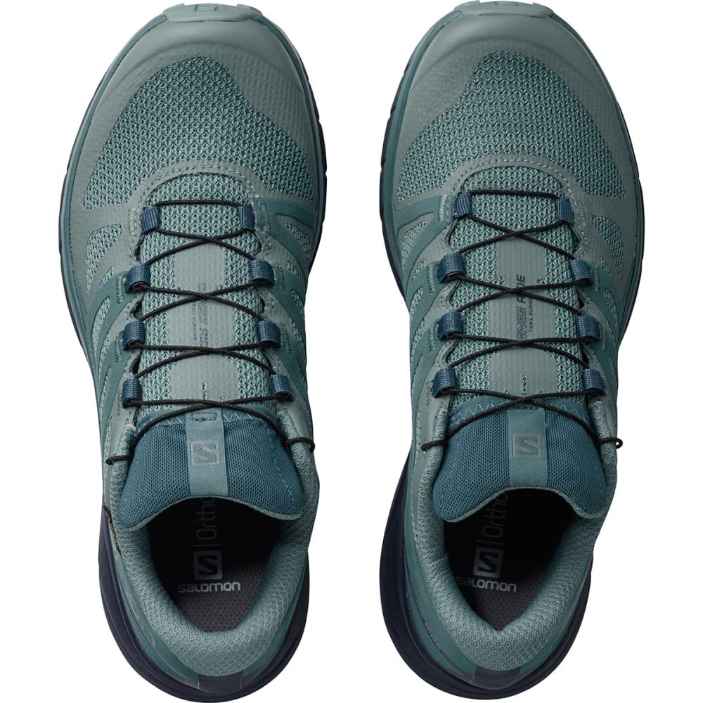 cc237b47f827 SALOMON Women  39 s Sense Ride GTX Invisible Fit Waterproof Trail Running  Shoes -