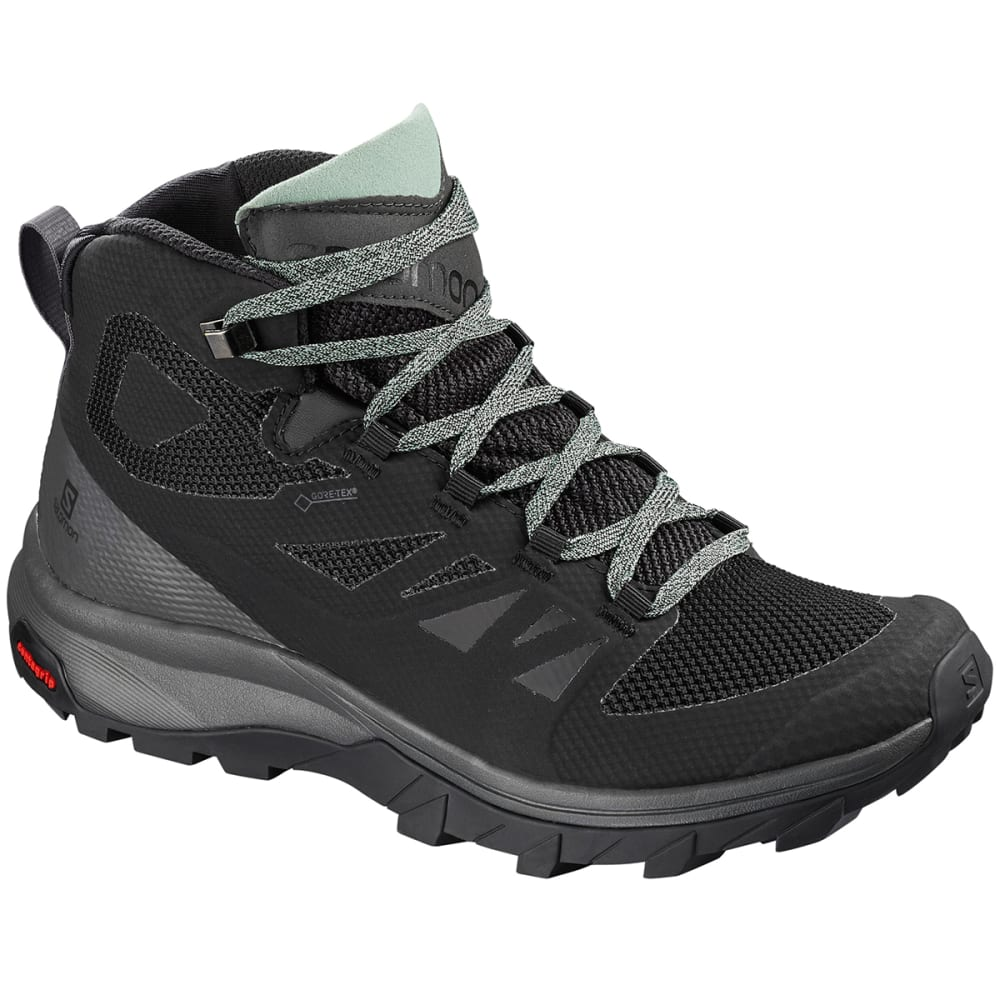 SALOMON Women's Outline Mid GTX Waterproof Hiking Boots 7