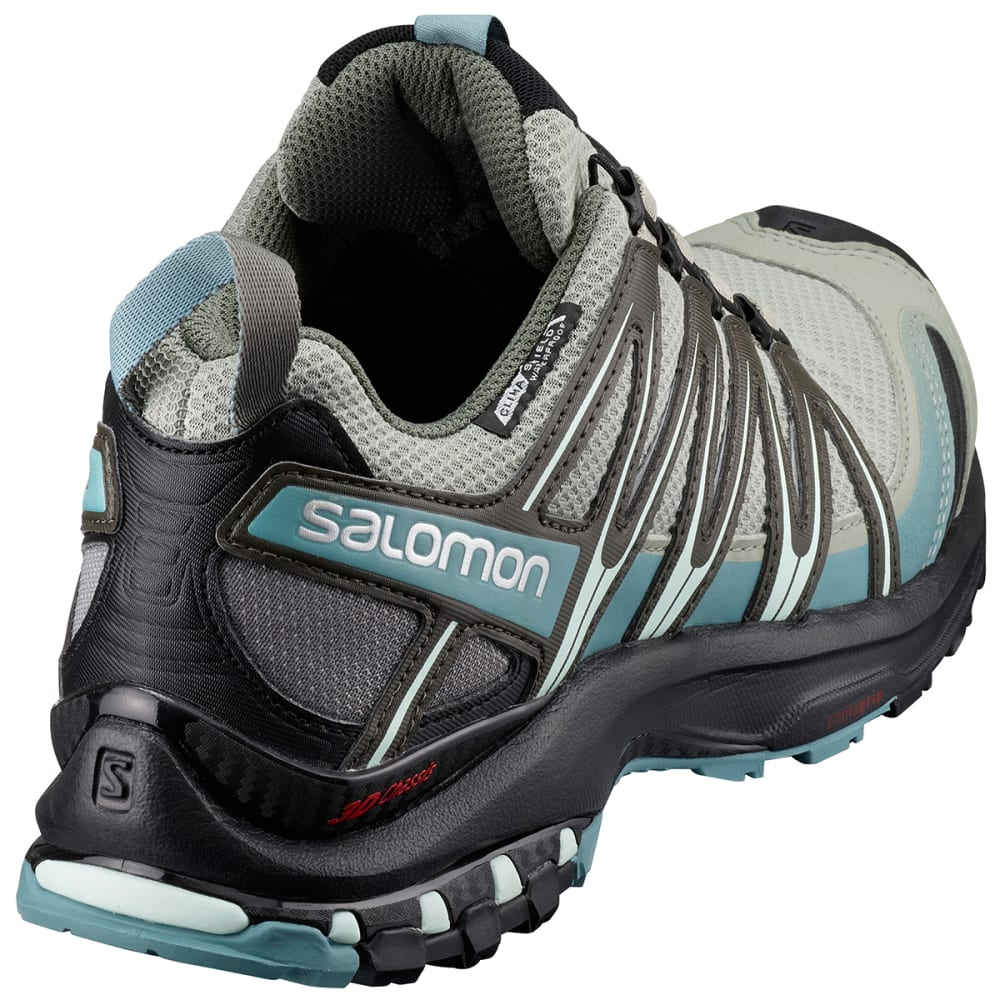 SALOMON Women's XA Pro 3D CS Waterproof Trail Running Shoes - SHADOW/BLACK