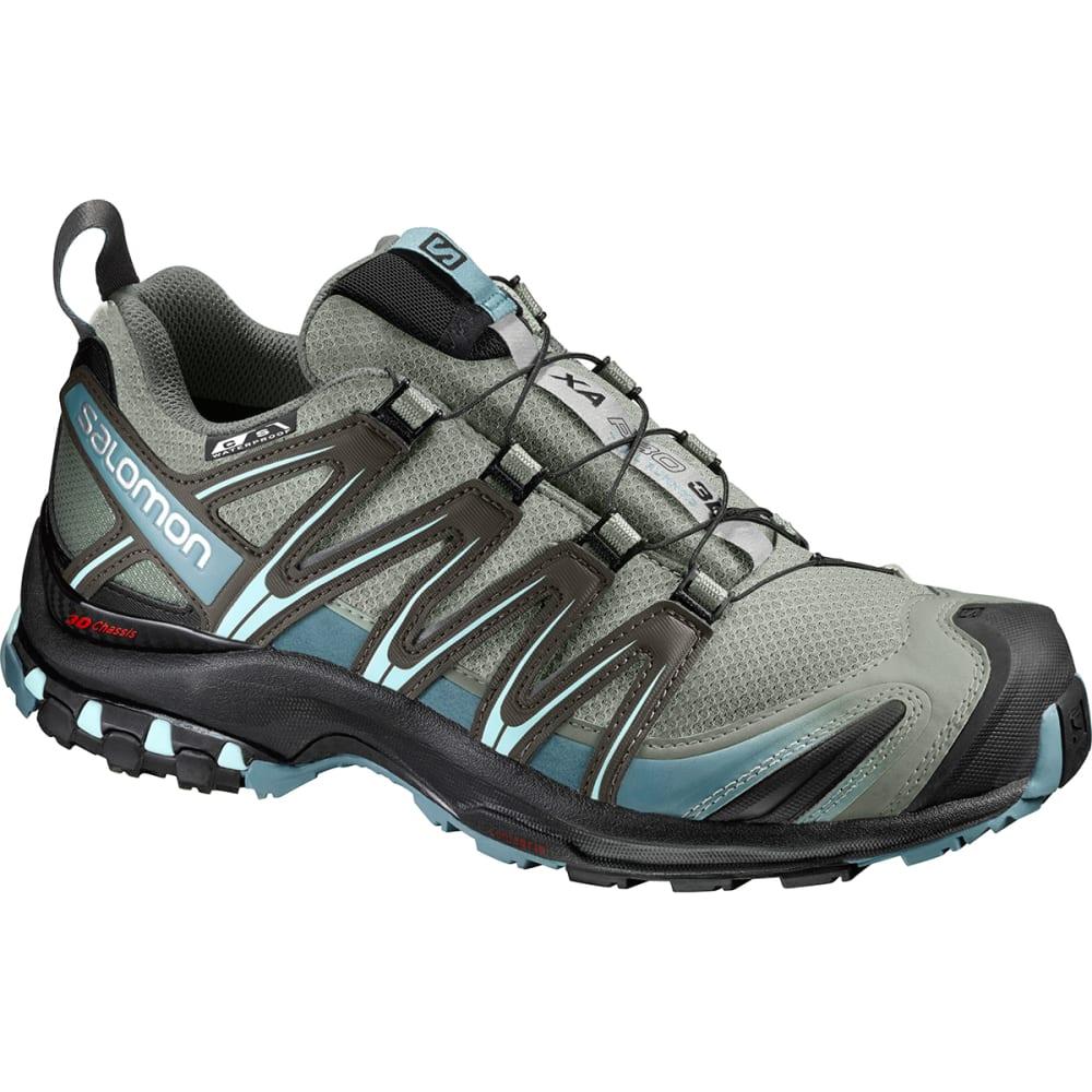 SALOMON Women's XA Pro 3D CS Waterproof Trail Running Shoes - SHADOW/BLACK