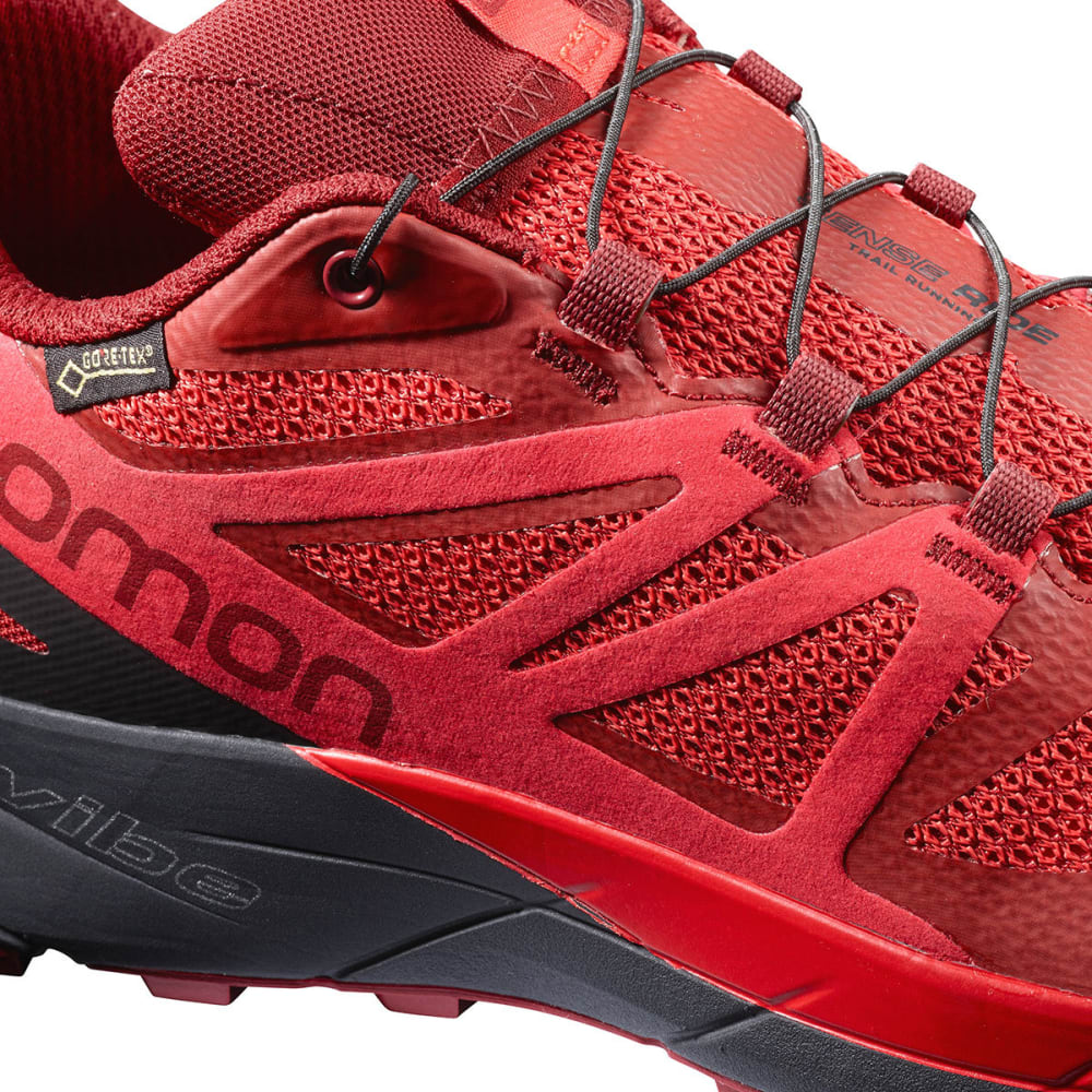 SALOMON Men's Sense Ride GTX Invisible Fit Waterproof Trail Running Shoes