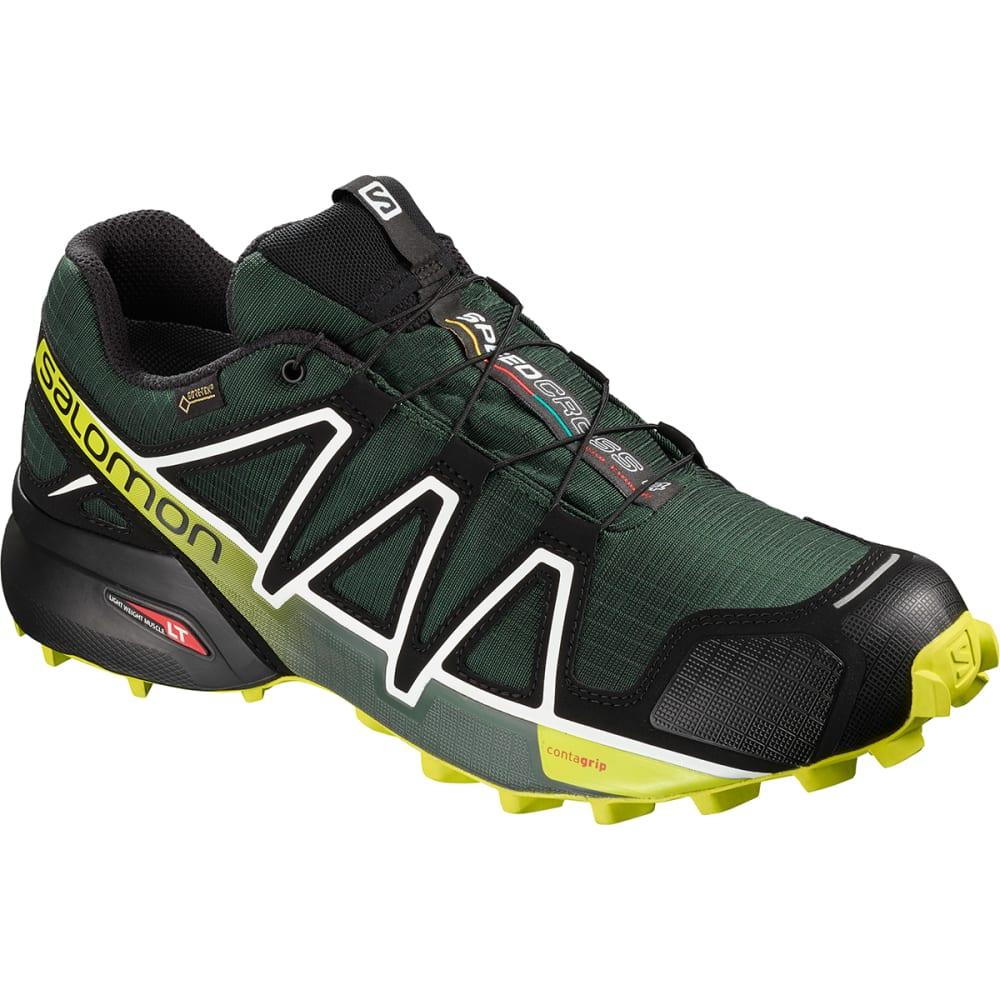 SALOMON Men's Speedcross 4 GTX Waterproof Trail Running Shoes - DK SPRUCE/BLACK