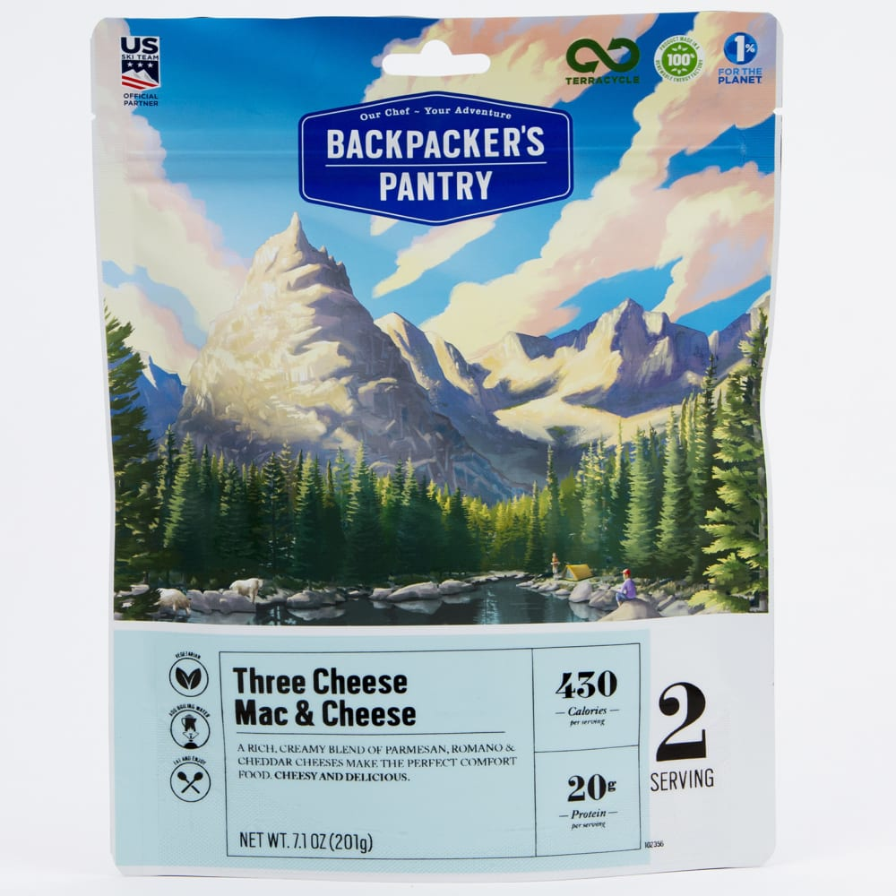 BACKPACKER'S PANTRY Three Cheese Mac and Cheese NO SIZE