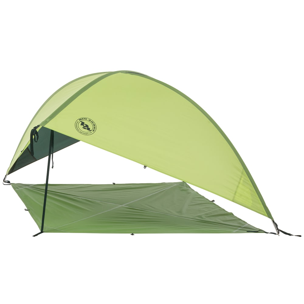 BIG AGNES Whetstone Shelter with Floor, Small - GREEN