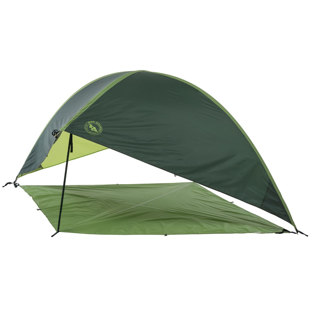 BIG AGNES Whetstone Shelter with Floor, Large - GREEN