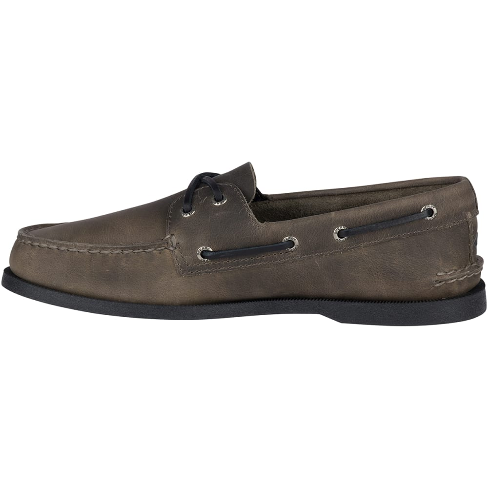 SPERRY Men's Authentic Original Richtown Boat Shoes - GREY-STS17987