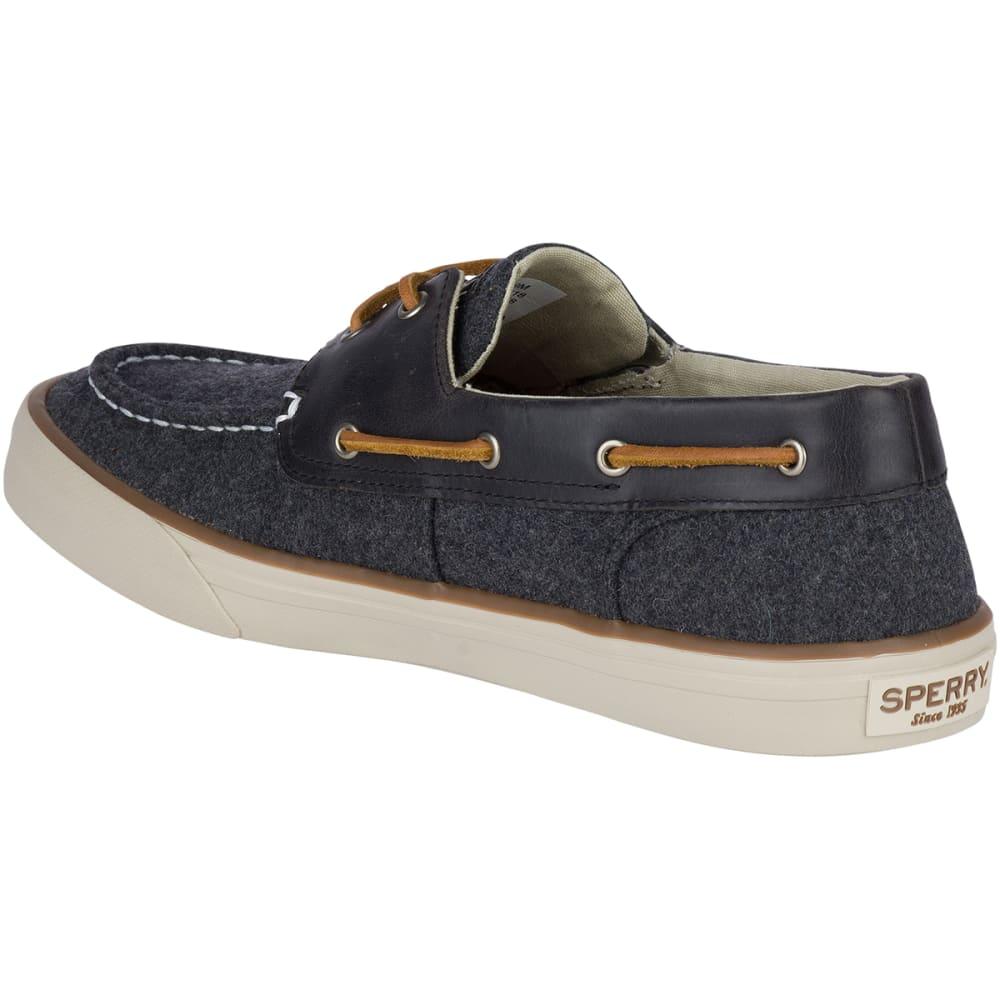 SPERRY Men's Bahama II Wool Sneaker Boat Shoes - DARK GREY-STS18118