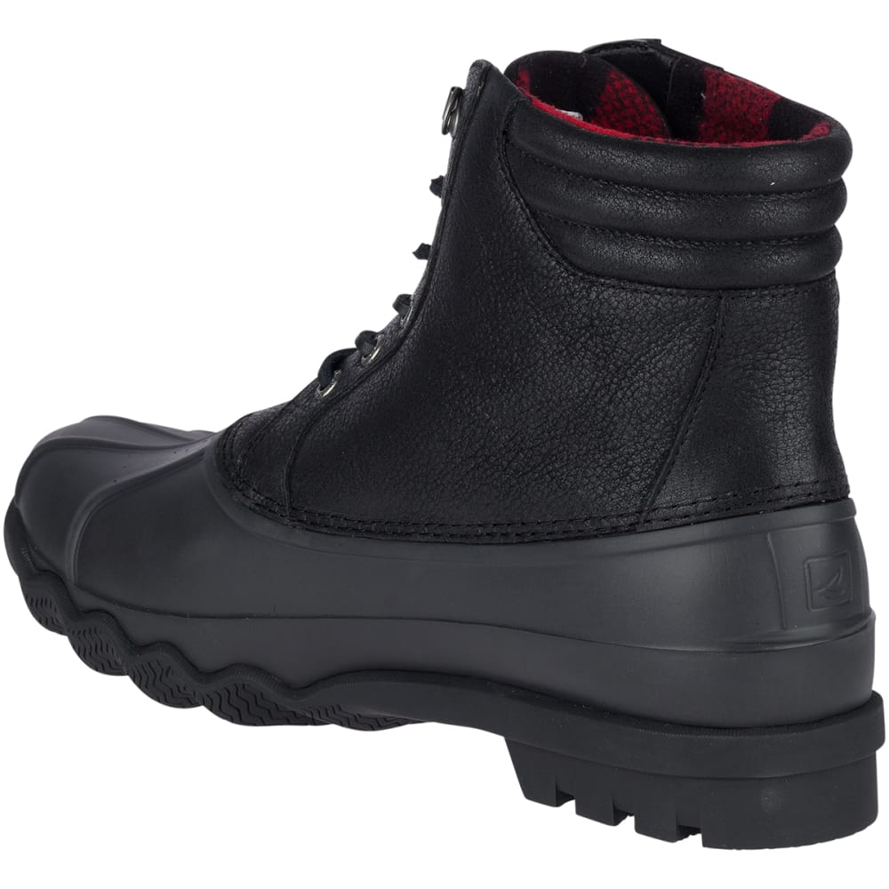 SPERRY Men's Avenue Winter Waterproof Duck Boots - BLACK -STS18434