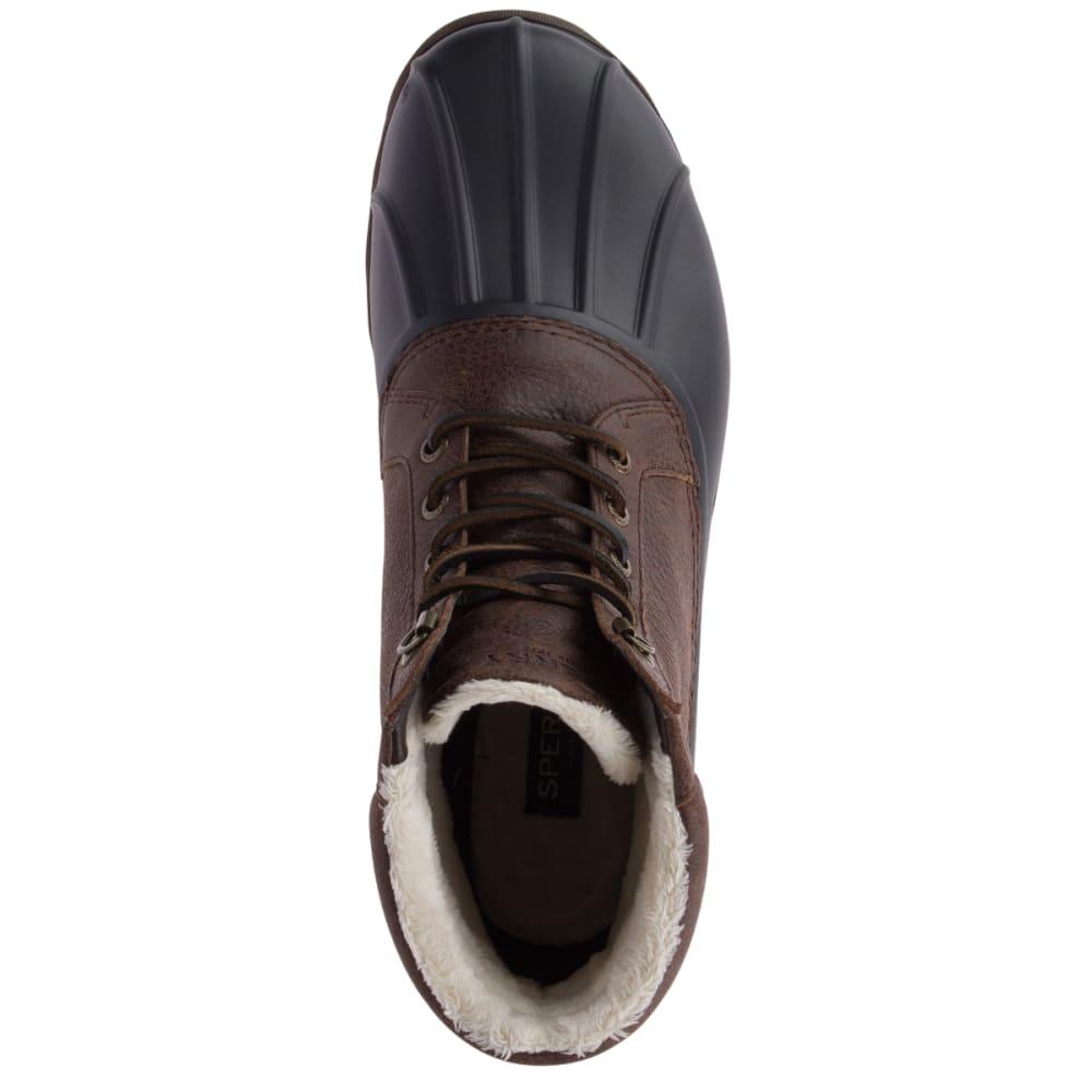 SPERRY Men's Avenue Winter Waterproof Duck Boots - BROWN/BLACK-STS18433