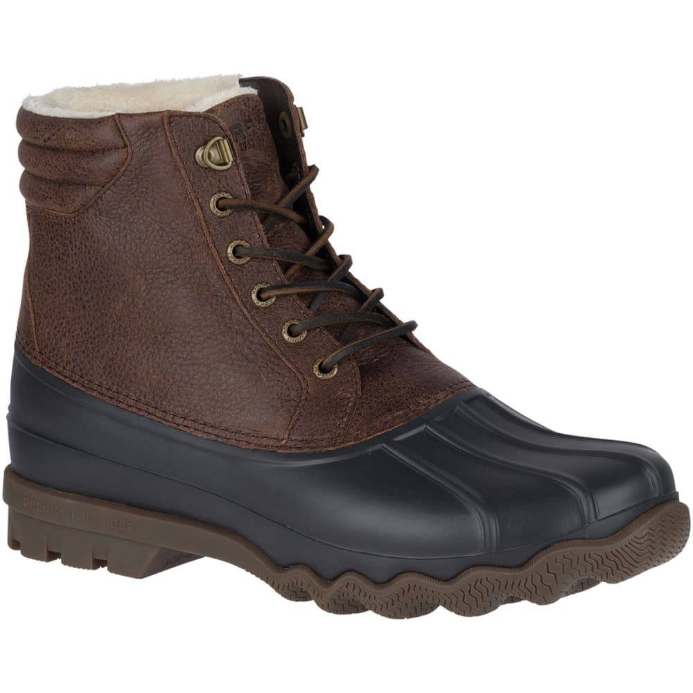 SPERRY Men's Avenue Winter Waterproof Duck Boots - BROWN/BLACK-STS18433