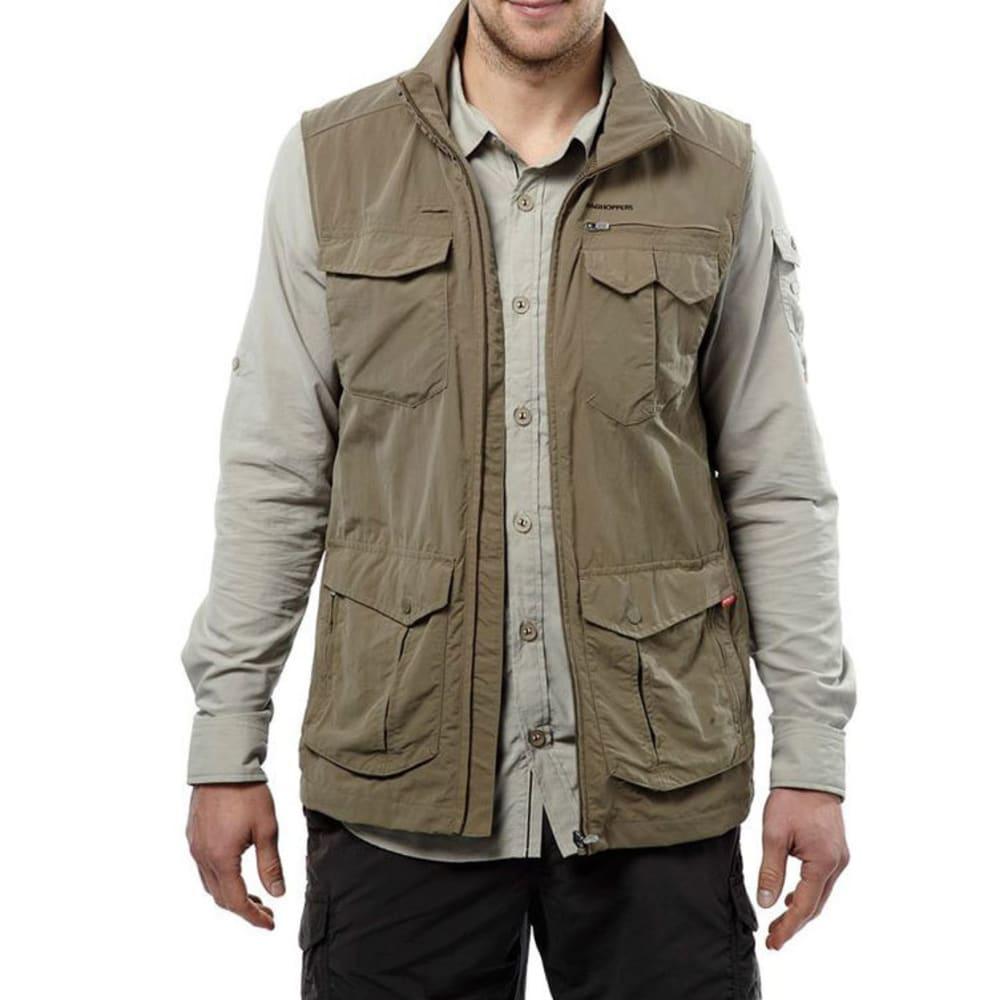 CRAGHOPPERS Men's NosiLife Adventure Vest - PEBBLE-62A