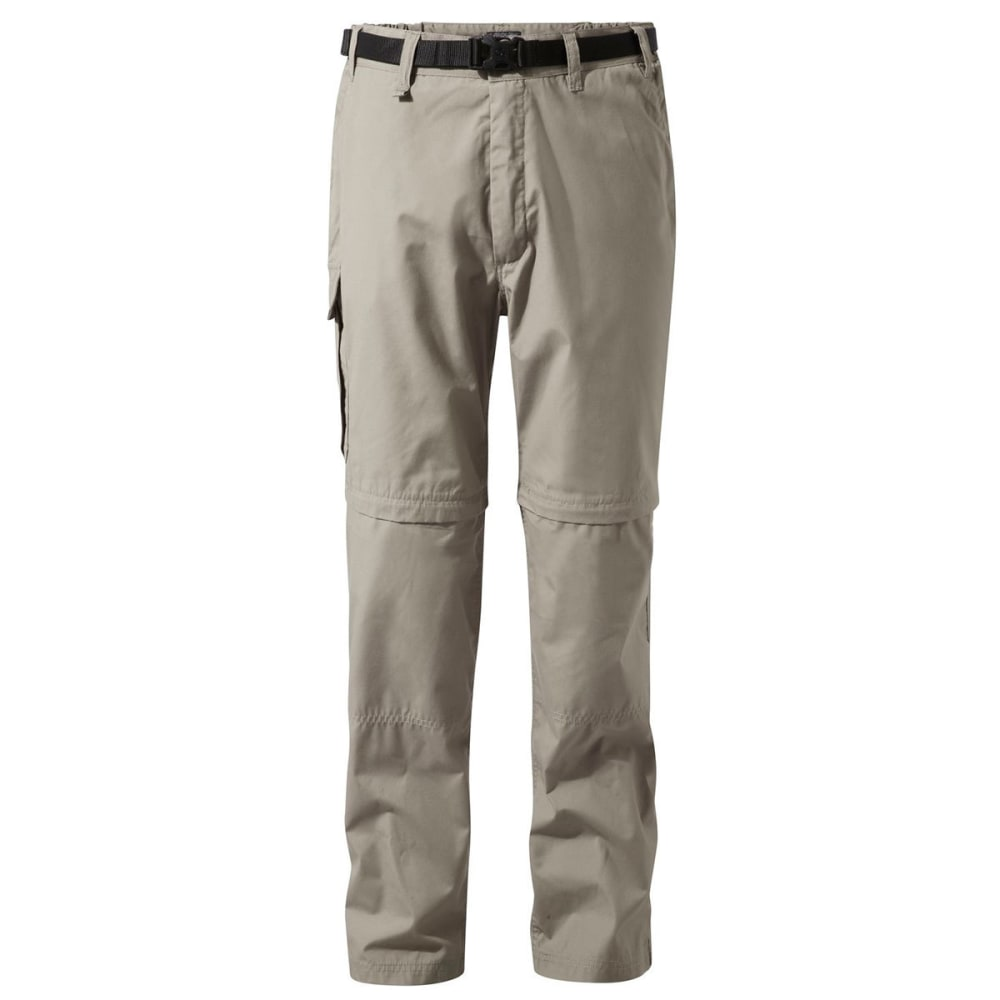 CRAGHOPPERS Men's NosiDefence Kiwi Convertible Pants - BEACH-08X