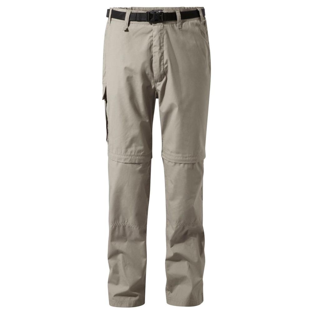 CRAGHOPPERS Men's NosiDefence Kiwi Convertible Pants - BEACH-08X