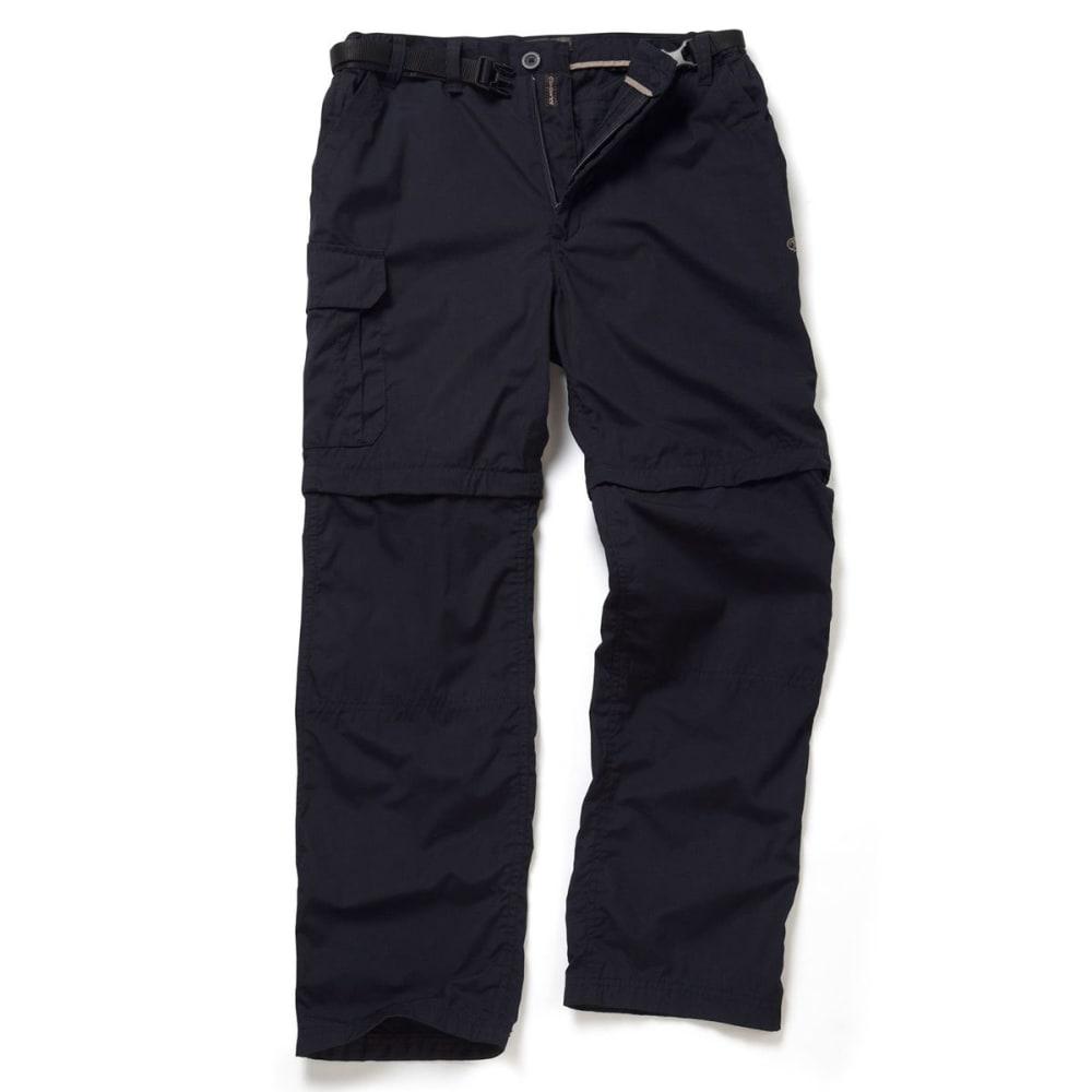 CRAGHOPPERS Men's NosiDefence Kiwi Convertible Pants - DARK NAVY-3G3