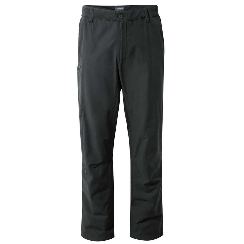 CRAGHOPPERS Men's NosiDefence Kiwi Trek Pants - BLACK PEPPER-7J8