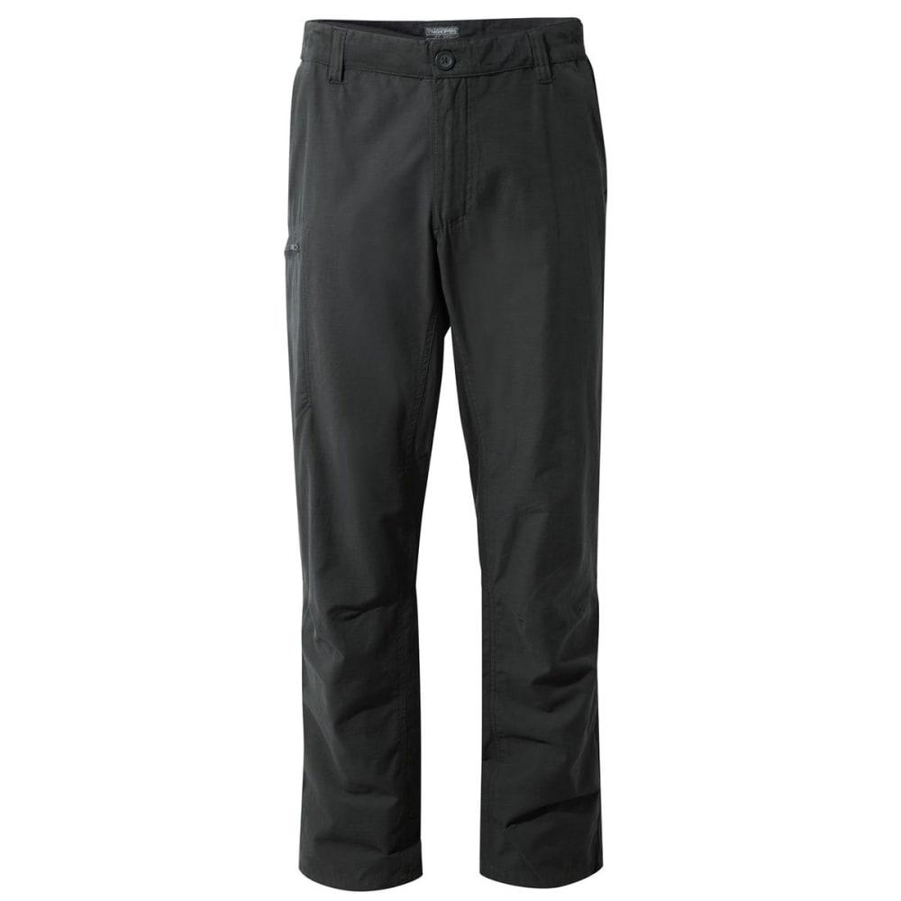 CRAGHOPPERS Men's NosiDefence Kiwi Trek Pants - BLACK PEPPER-7J8