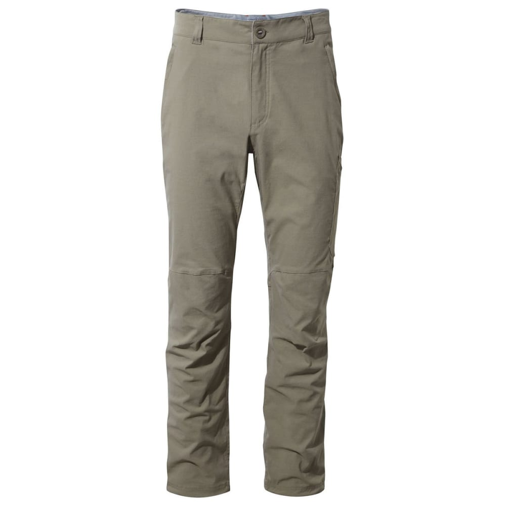 CRAGHOPPERS Men's NosiLife Pro Pants - PEBBLE-62A